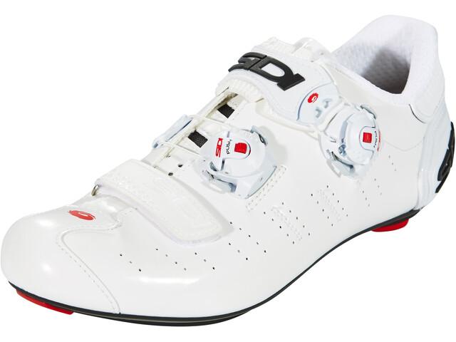 Sidi Ergo 5 Carbon Shoes Herren white/white
